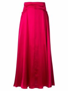 Michael Lo Sordo high-waisted skirt - Red