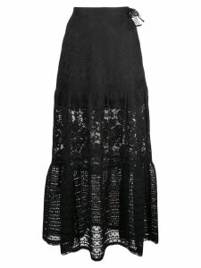 Cynthia Rowley Wicker Park lace skirt - Black