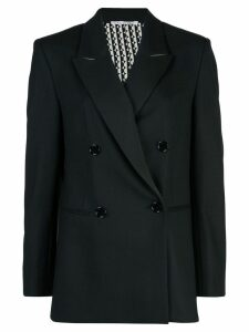 Oscar de la Renta double breasted blazer - Black