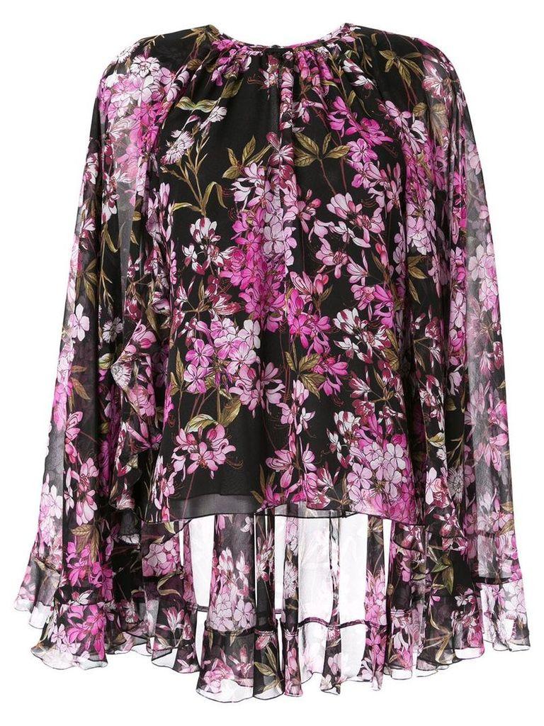 Giambattista Valli floral print blouse - Black
