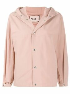 Plan C hooded jacket - Pink