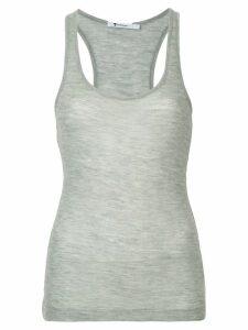T By Alexander Wang scoop neck tank top - Grey