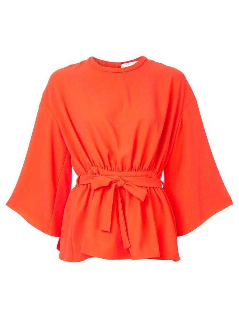 Iro tie-waist blouse - Orange
