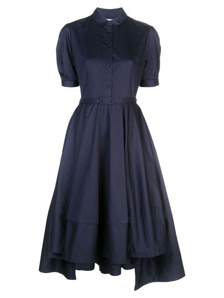 Co flared shirt dress - Blue