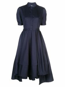 Co flared shirt dress - Blue