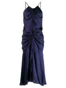 Alice Mccall gathered maxi dress - Blue