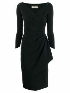 Le Petite Robe Di Chiara Boni ruched midi dress - Black