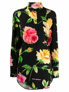 Off-White floral print shirt - Black