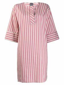 Lorena Antoniazzi short striped dress - Pink