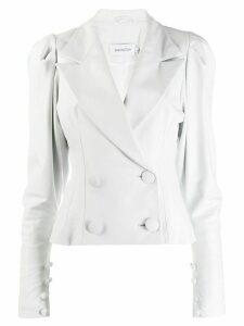 16Arlington double breasted blazer - White