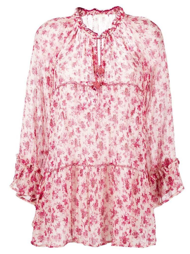 Anjuna Rebecca floral mini dress - Pink