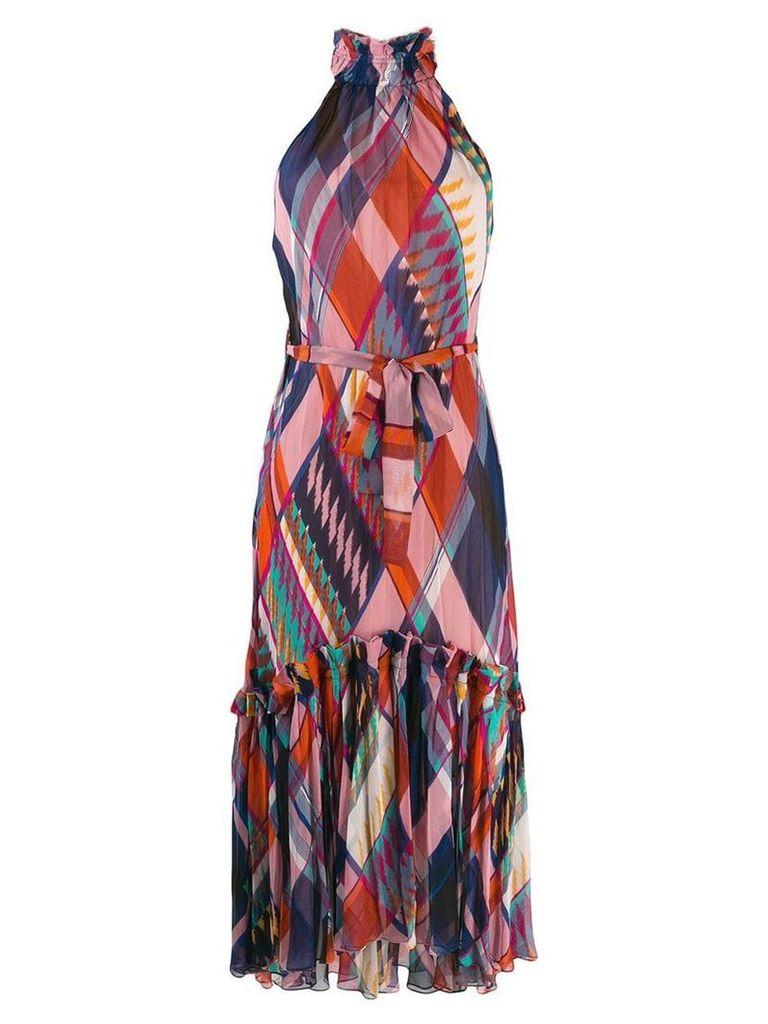 Dvf Diane Von Furstenberg Selena sleeveless maxi dress - Red