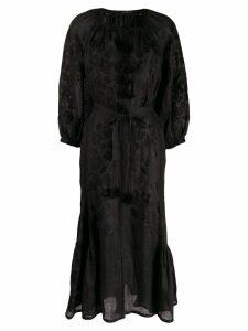 Vita Kin fitted tassel dress - Black