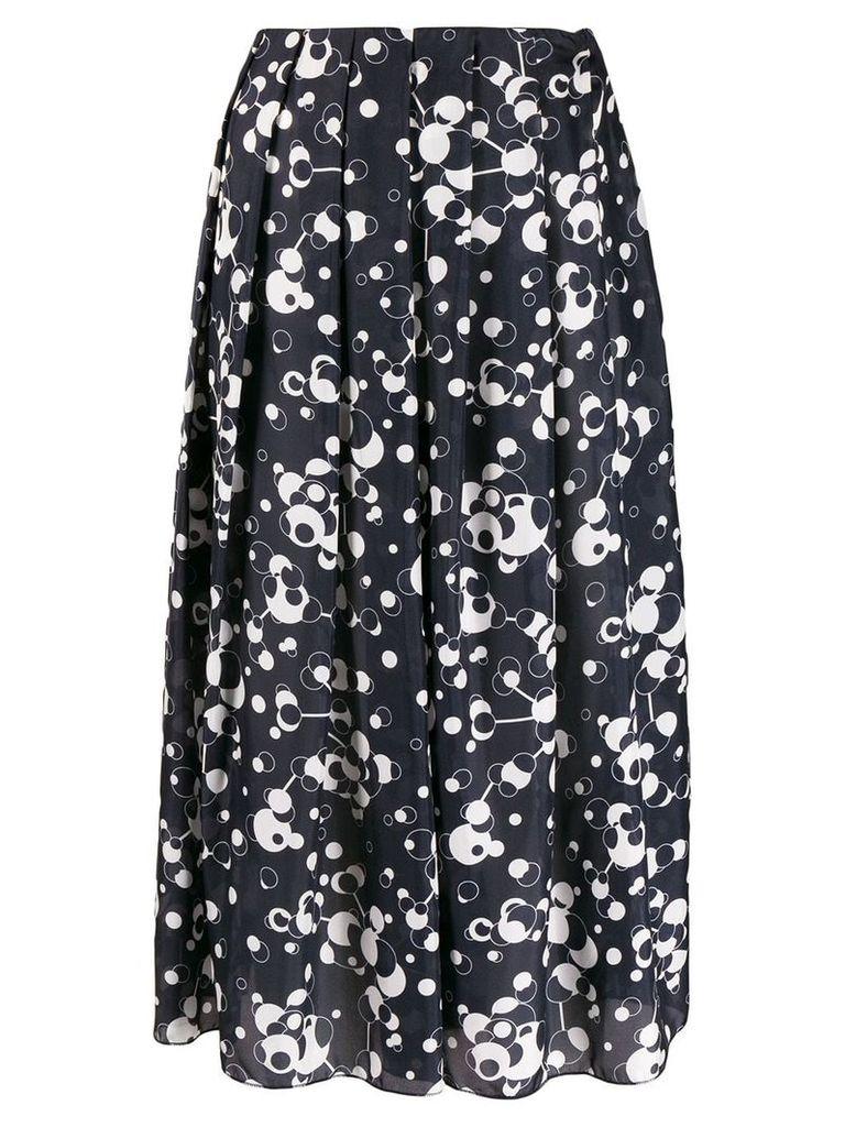 Katharine Hamnett London pleated skirt - Blue
