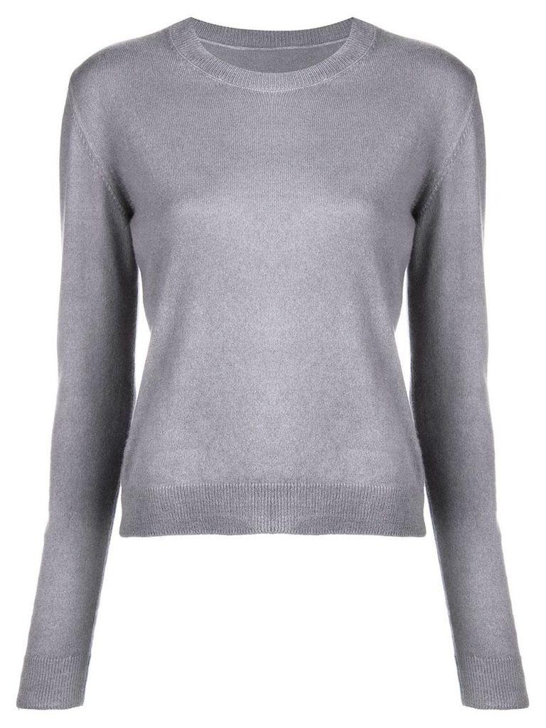 The Elder Statesman fine knit sweater - Grey