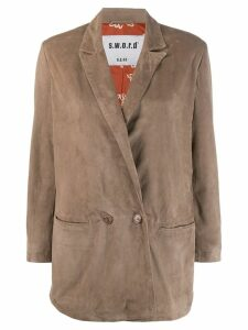 S.W.O.R.D 6.6.44 double-breasted jacket - Neutrals