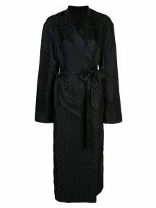 Kiki de Montparnasse logomania robe - Black