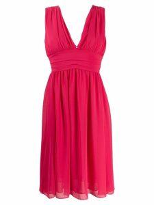 Blanca V-neck dress - Pink
