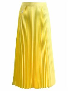 Marios pleated midi skirt - Yellow