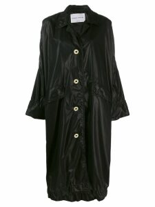 Sonia Rykiel oversized midi coat - Black