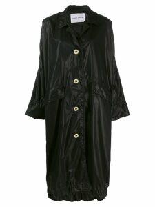 Sonia Rykiel oversized midi coat - Black