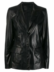 Drome single-breasted jacket - Black