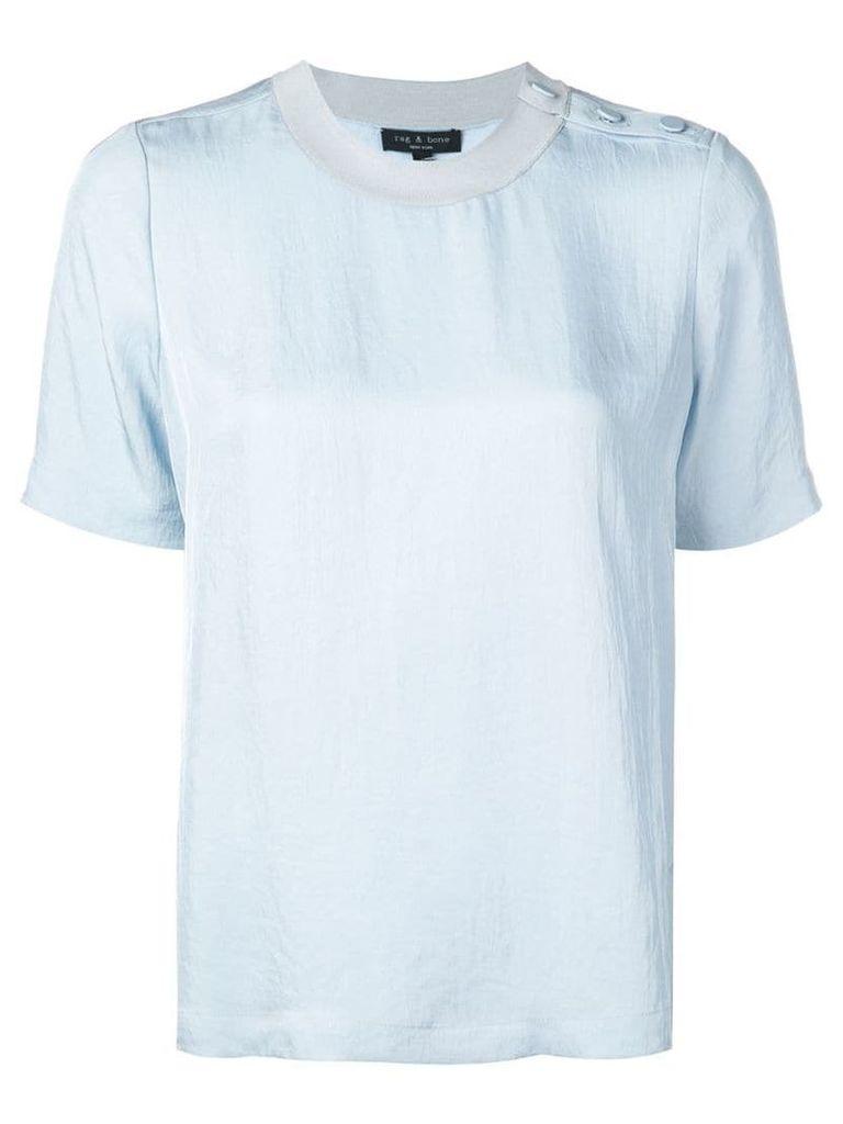 Rag & Bone Aiden T-shirt - Blue