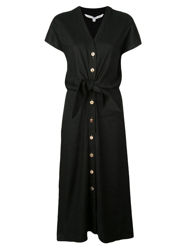 Veronica Beard knot detail shirt dress - Black