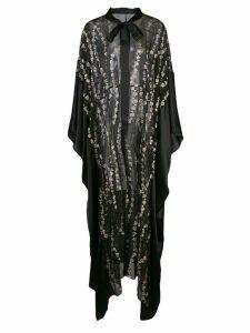 Haider Ackermann sheer tunic dress - Black