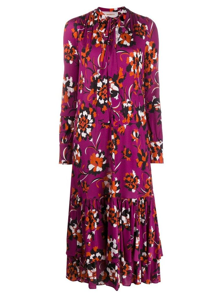 La Doublej Good Witch Dress - Purple