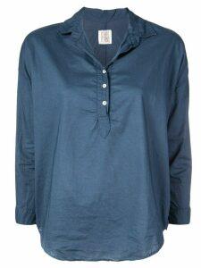 A Shirt Thing classic tunic blouse - Blue