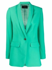 Frenken classic fitted blazer - Green