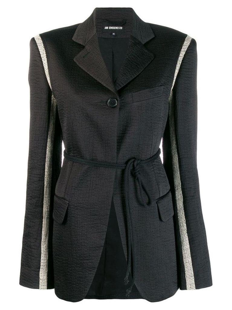 Ann Demeulemeester Francis blazer - Black
