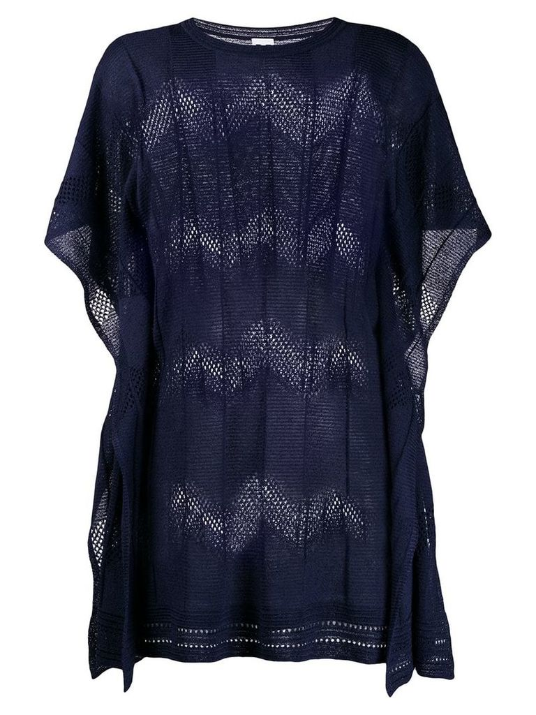 M Missoni knitted top - Blue