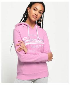 Superdry Premium Goods Tonal Embroidered Hoodie