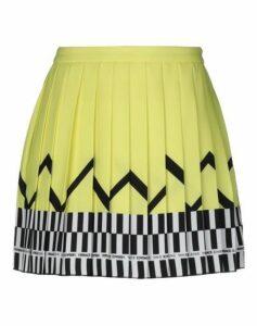 VERSACE JEANS SKIRTS Mini skirts Women on YOOX.COM
