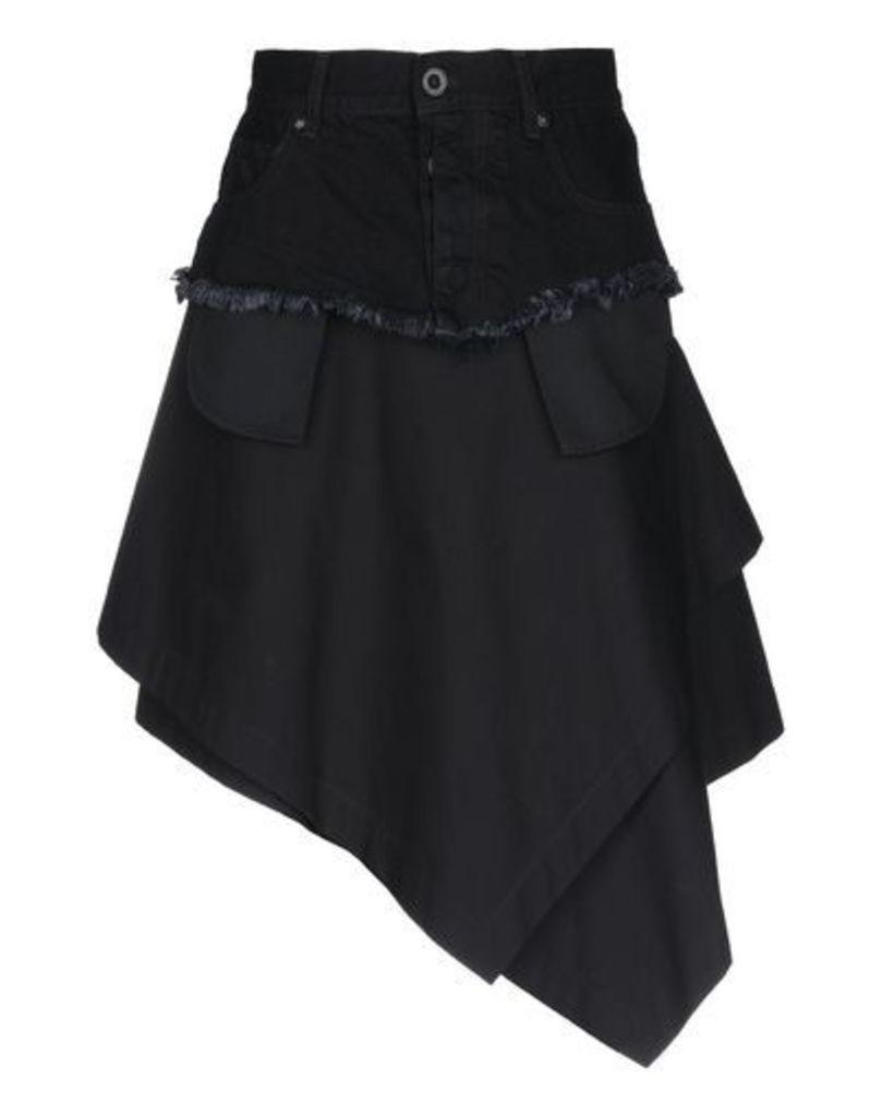 BEN TAVERNITI™ UNRAVEL PROJECT SKIRTS Knee length skirts Women on YOOX.COM