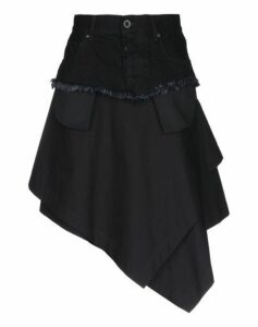 BEN TAVERNITI™ UNRAVEL PROJECT SKIRTS Knee length skirts Women on YOOX.COM