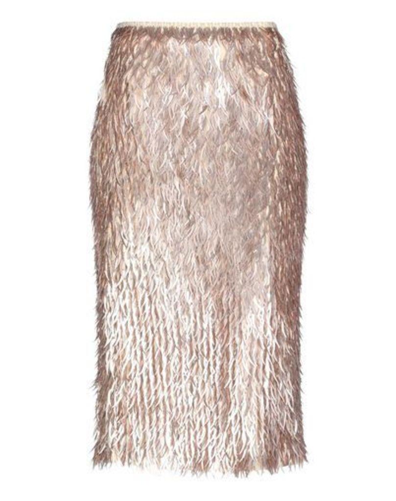 ODEEH SKIRTS 3/4 length skirts Women on YOOX.COM