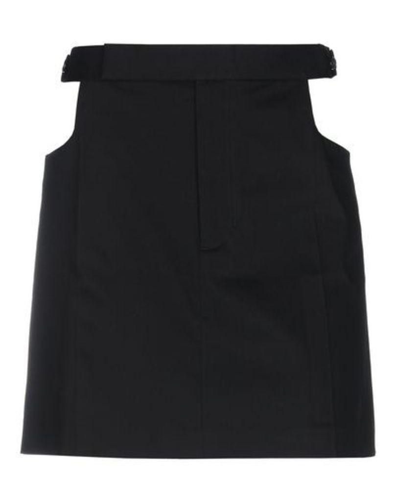 HELMUT LANG SKIRTS Knee length skirts Women on YOOX.COM