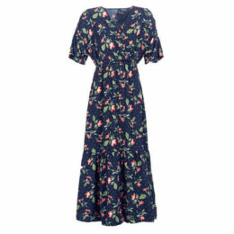 Vero Moda  VMAVA  women's Long Dress in Blue