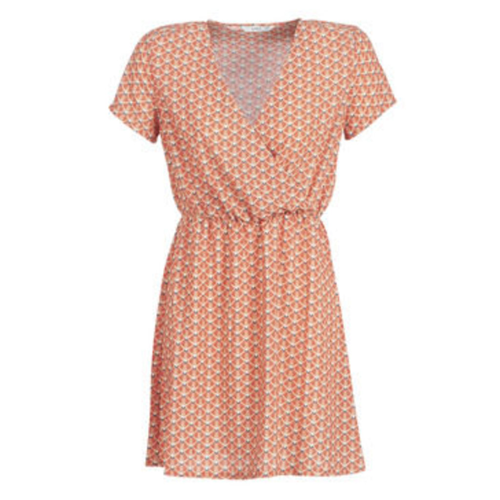 Only  ONLTULIPE  women's Dress in Orange