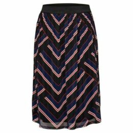 Only  FALDA  women's Skirt in Blue