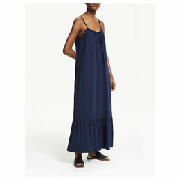 ARMEDANGELS Lyraa Strappy Jersey Maxi Dress, Dark Navy