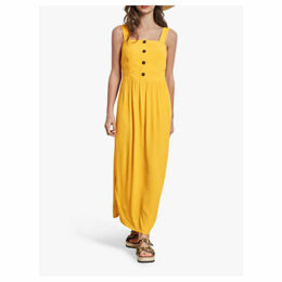 hush Carilo Button Sun Dress, Sunshine