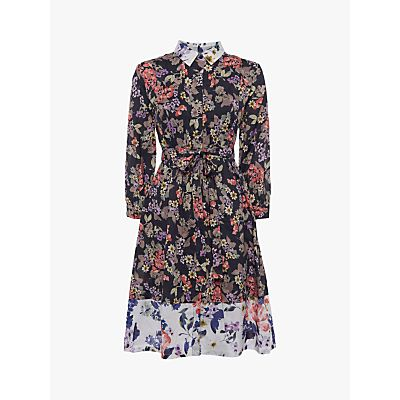 French Connection Acaena Floral Dress, Multi