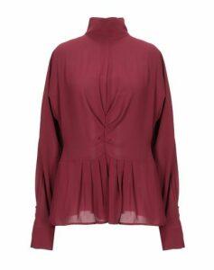 GABARDINE SHIRTS Blouses Women on YOOX.COM