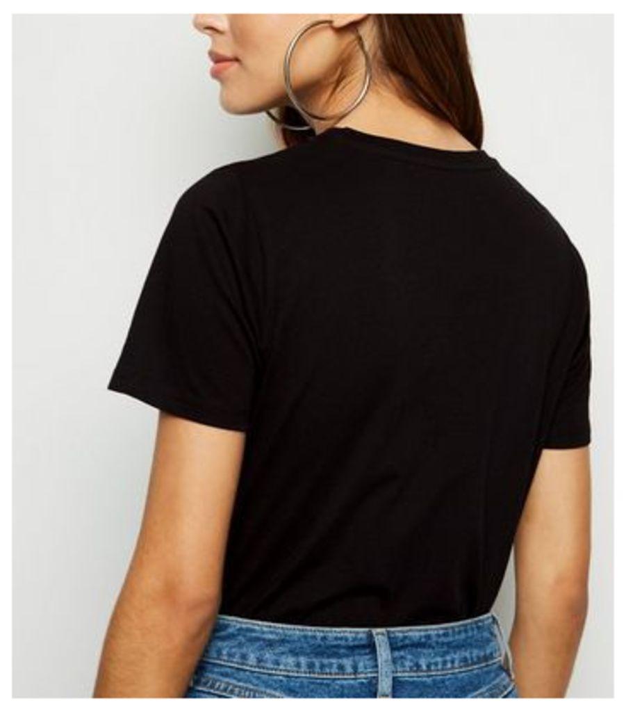 Black South Side Serpents Slogan T-Shirt New Look