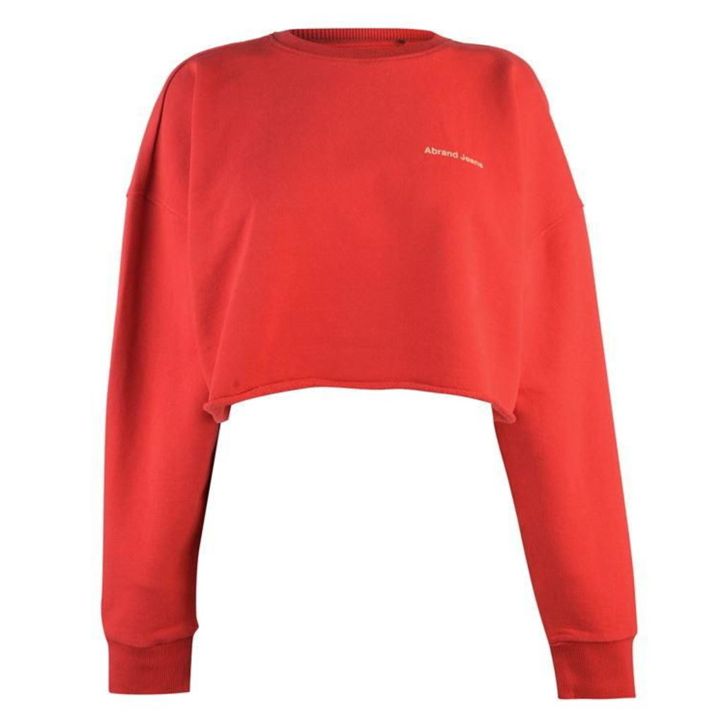 Abrand Crop Sweater Ld92