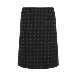 Moons Wool Geo Spot Skirt